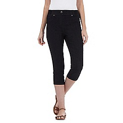 Maine New England - Black cropped jeggings