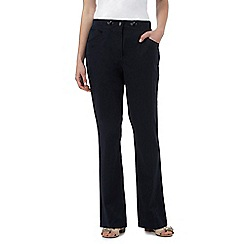 Maine New England - Navy ribbed waist trousers
