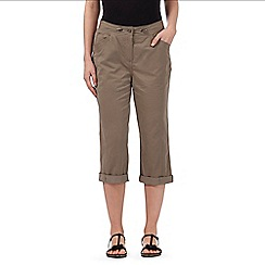 Maine New England - Taupe ribbed waist trousers