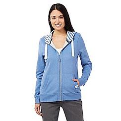 Maine New England - Blue zip hoodie