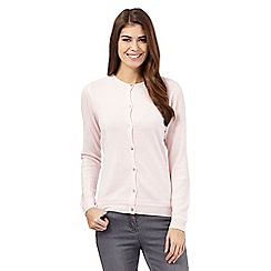 Maine New England - Pale pink button cardigan