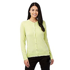 Maine New England - Lime button cardigan