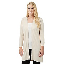 Maine New England - Cream ultra-soft longline cardigan