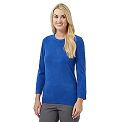 Maine New England - Blue ultra-soft jumper