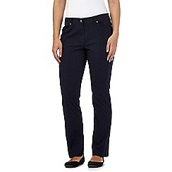 Maine New England - Navy five pocket trousers