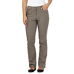 Maine New England - Taupe five pocket trousers
