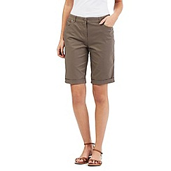 Maine New England - Taupe 5 pocket shorts