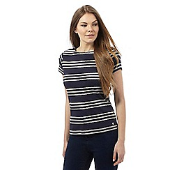 Maine New England - Navy rope print top