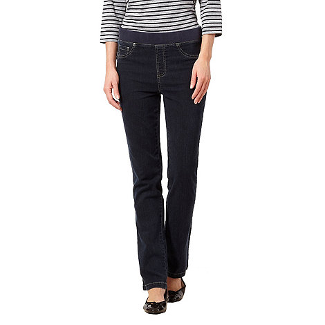 Maine New England - Dark blue ribbed waist jeggings