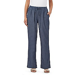 Maine New England - Dark blue chambray trousers