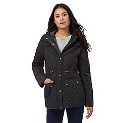 Maine New England - Dark grey quilted coat