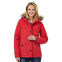 Maine New England - Red waterproof parka