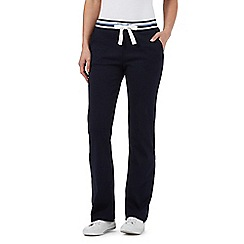 Maine New England - Navy tipped jogging bottoms
