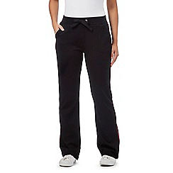 Maine New England - Black side piped jogging bottoms