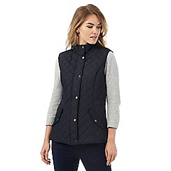 Maine New England - Navy quilted gilet