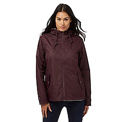 Maine New England - Dark red waterproof jacket