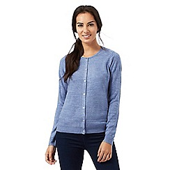 Maine New England - Blue button cardigan