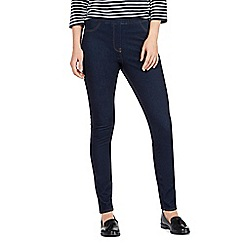 Maine New England - Blue high waisted skinny jeggings