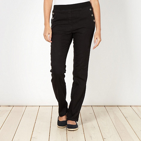 Maine New England - Black short sailor jeggings