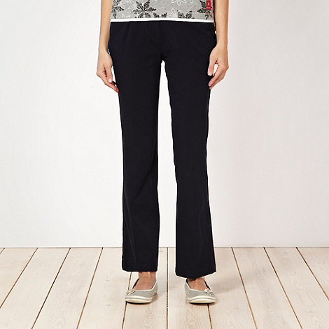 Maine New England - Navy bi-stretch trousers