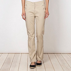 Maine New England - Natural two-way stretch casual trousers