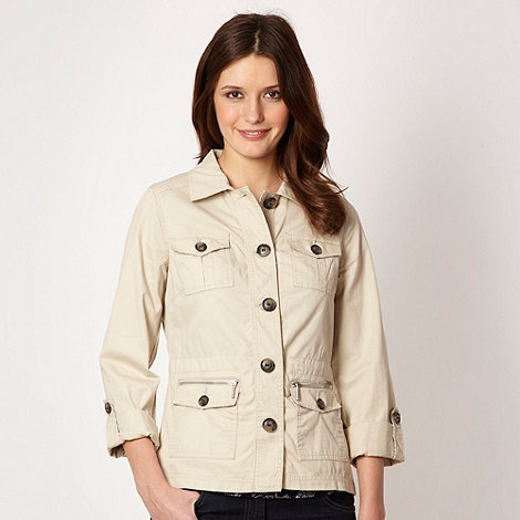 Maine New England - Natural button through jacket