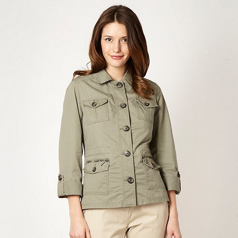 Maine New England - Khaki lightweight twill jacket