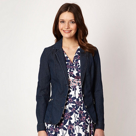 Maine New England - Dark blue denim blazer