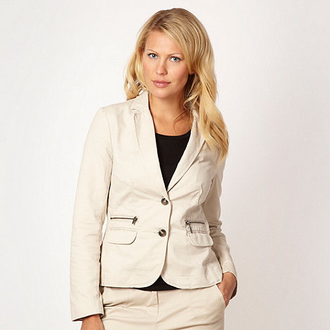 Maine New England - Natural fitted blazer