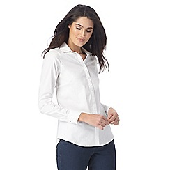 Maine New England - White three quarter length sleeved shirt