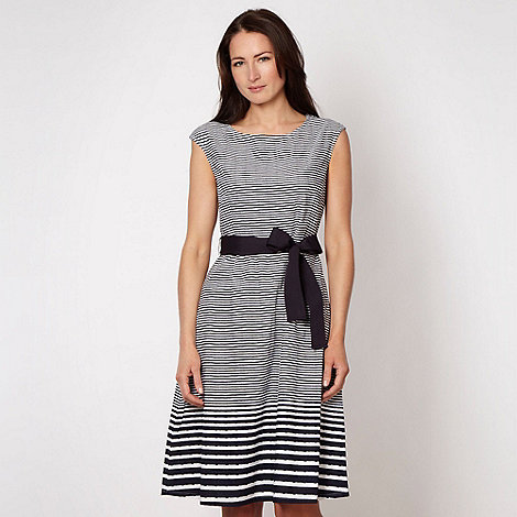 Maine New England - Navy striped dress