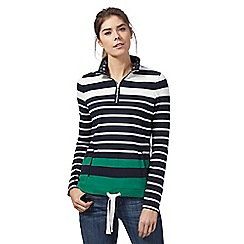 Maine New England - Navy striped sweater