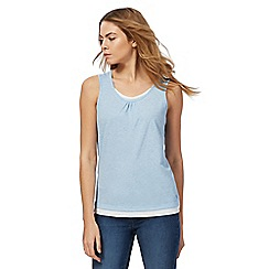 Maine New England - Blue layered vest top