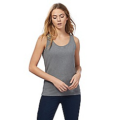 Maine New England - Grey hidden support vest top
