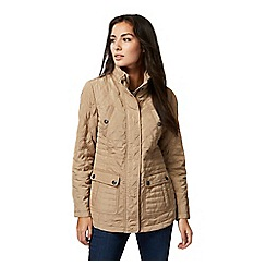 Maine New England - Taupe quilted jacket