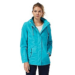 Maine New England - Turquoise fleece lined jacket