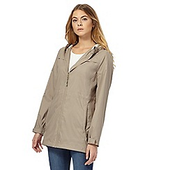 Maine New England - Taupe hooded parka