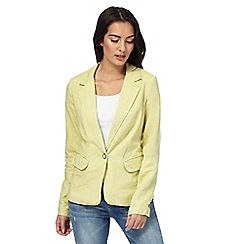 Maine New England - Lime linen blend blazer