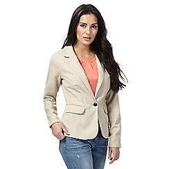 Maine New England - Beige linen blazer