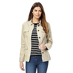 Maine New England - Beige cotton jacket