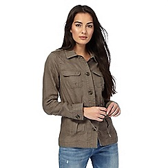 Maine New England - Khaki linen jacket