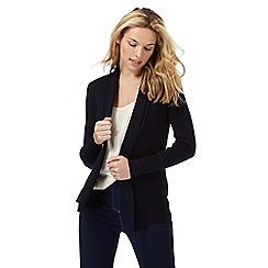 Maine New England - Navy edge to edge longline cardigan
