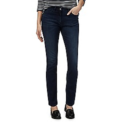 Maine New England - Maine dark blue mid rise straight leg jeans