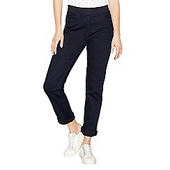 Maine New England - Blue straight leg elasticated waist jeggings