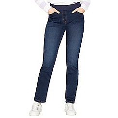 Maine New England - Dark blue ribbed waistband jeggings