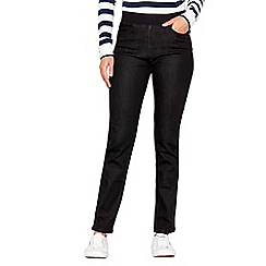 Maine New England - Black straight leg jeggings