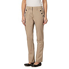 Maine New England - Natural bi-stretch trousers