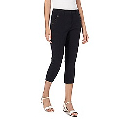 Maine New England - Black cropped trousers