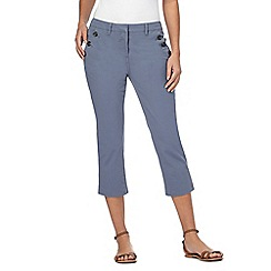 Maine New England - Grey cropped trousers