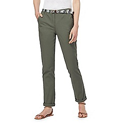 Maine New England - Khaki chino trousers